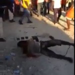 man stoned in africa