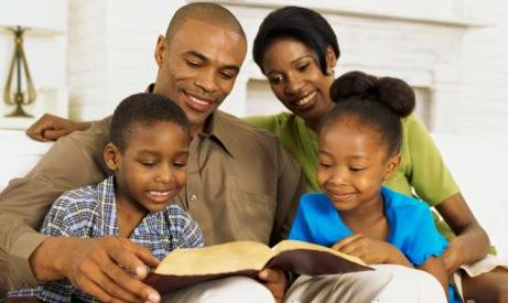 family-reads-bible