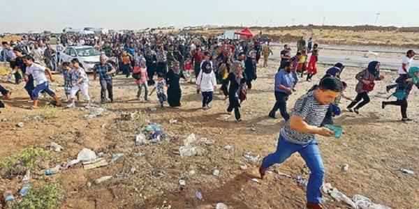 christians-flee